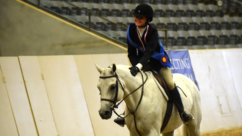 "What is Ada Hays' secret to winning the USEF Pony Medal Final? Fox hunting! ""I think it helped me, because when you're moving up to any distances or holding to make sure they're the right ones in the hunt field, you don't really know what's going to happen."""