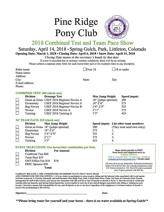The 2018 entry form is available! You can complete your entry electronically by using the fillable Word form, or print and fill out the PDF (see link below for both formats).   Entries open March 1; don't wait to send yours in, as space is limited.   Please contact me with any questions. We look forward to seeing you all soon!!   https://drive.google.com/open?id=1cjC6MoS4Q8VjLuvIp9J4epkIBRcV2U2a