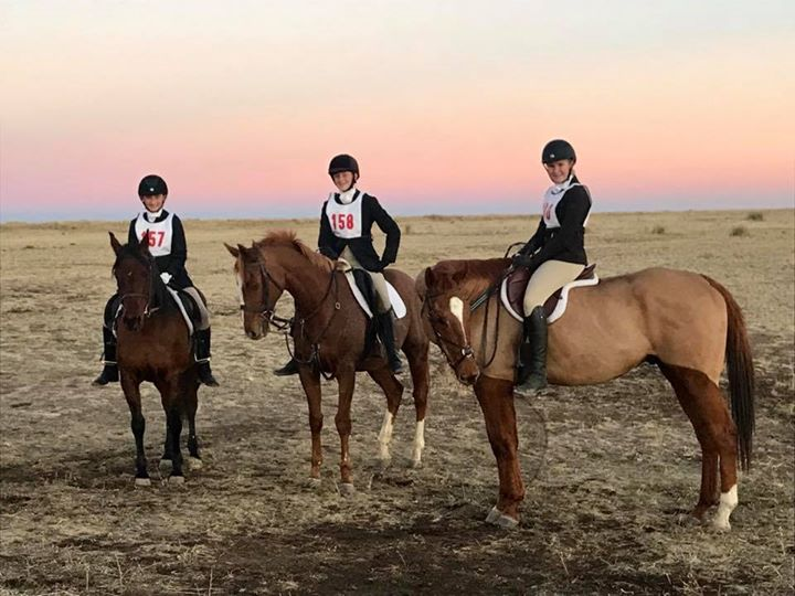 Very proud of these pony clubbers who hunted their butts off yesterday at their first field hunter competition!